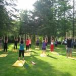 Rassemblement de yoga