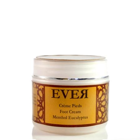 Crème soin de pieds Ever - Menthol et Eucalyptus